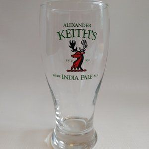 Alexander Keith's India Pale Ale Beer Glass